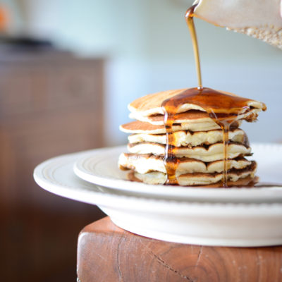 cornmeal and buttermilk pancakes