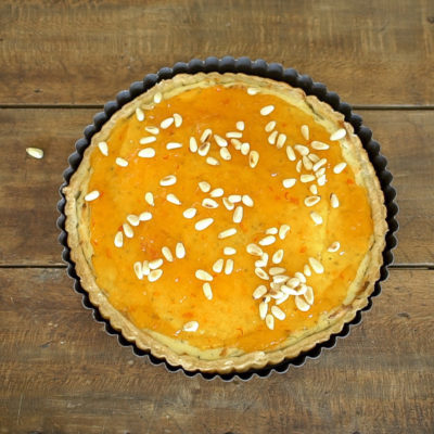 Goat Cheese Tart with Mango Habanero Jam Video