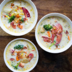 Lobster and Veggie Chowder