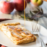 Vermont Apple and Maple Sugar Tart