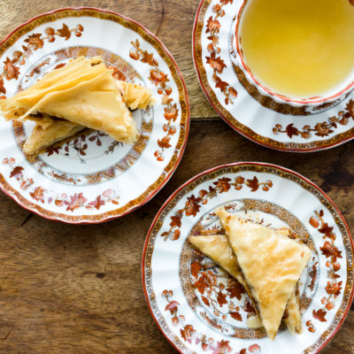 Pistachio and Coconut Baklava