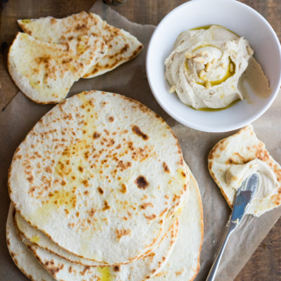 Herbed Pita Bread (Greek Flatbread)