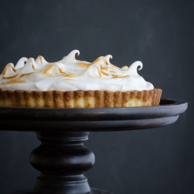 Blood Orange Meringue Tart