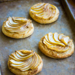Pear Tarts with Graham Cracker Crumble