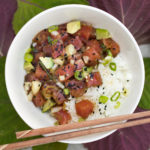 Tuna Poke Bowl with Shiso